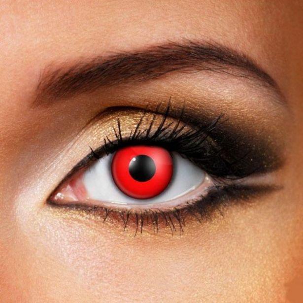 Oferta de ColourVue Crazy Red Devil 3M (2 lentillas) por 25€