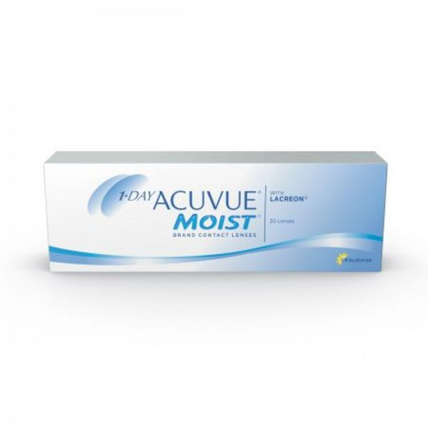 Oferta de 1 Day Acuvue Moist 9.0 (30 lentillas) por 26€