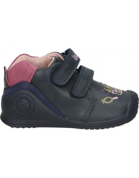 Oferta de Zapatos biomecanics 211112 a azul para niña por 50,95€