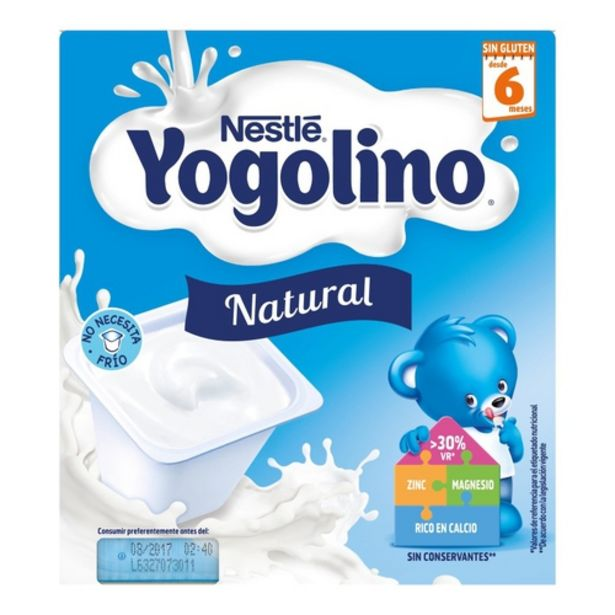 Oferta de YOGOLINO Postres natural por 2,05€