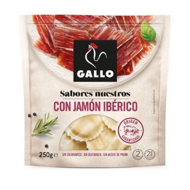 Oferta de GALLO Raviolis farcits de pernil ibèric por 2,95€