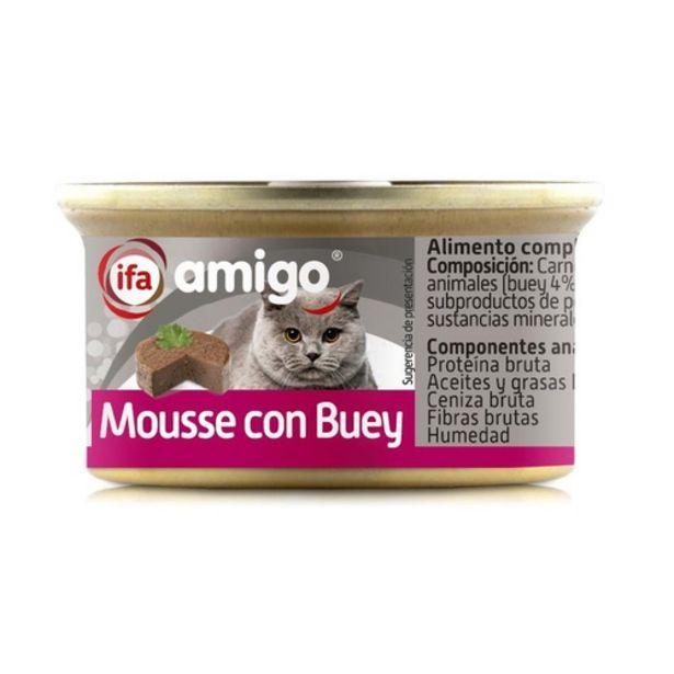 Oferta de IFA Mousse de bou per gats por 0,39€