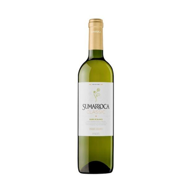 Oferta de SUMARROCA Vi blanc DO Penedès Km0 por 4,95€