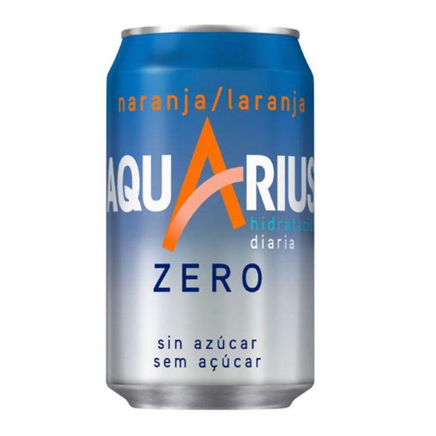 Oferta de AQUARIUS Refresc de taronja sense sucres por 0,71€