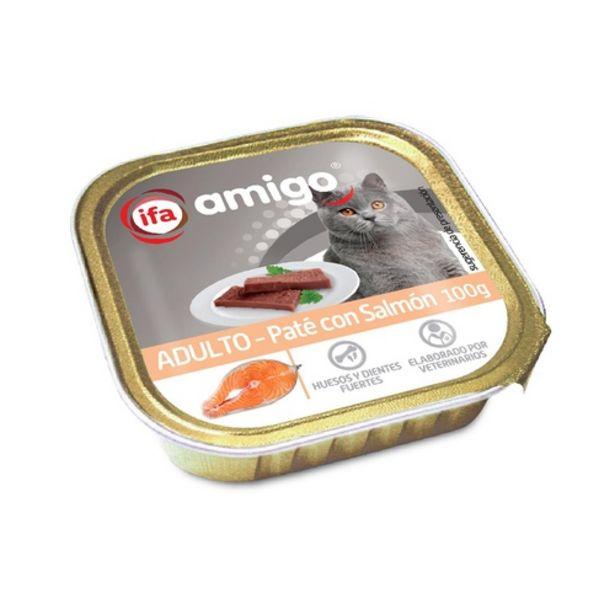 Oferta de IFA Paté de salmó per gats por 0,29€