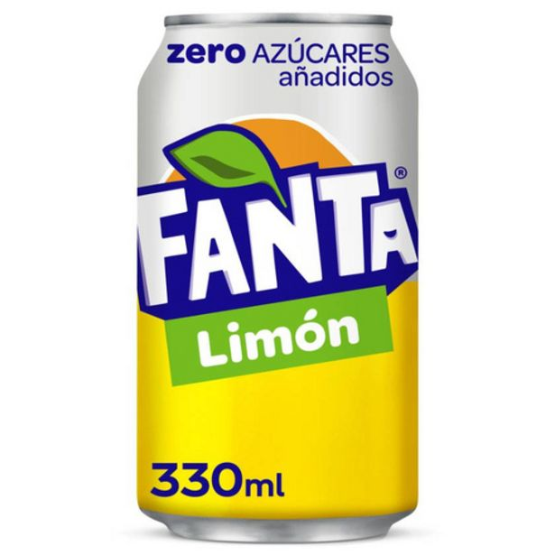 Oferta de FANTA Refresc de llimona zero por 0,5€