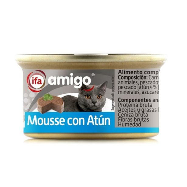 Oferta de IFA Mousse de tonyina per gats por 0,39€