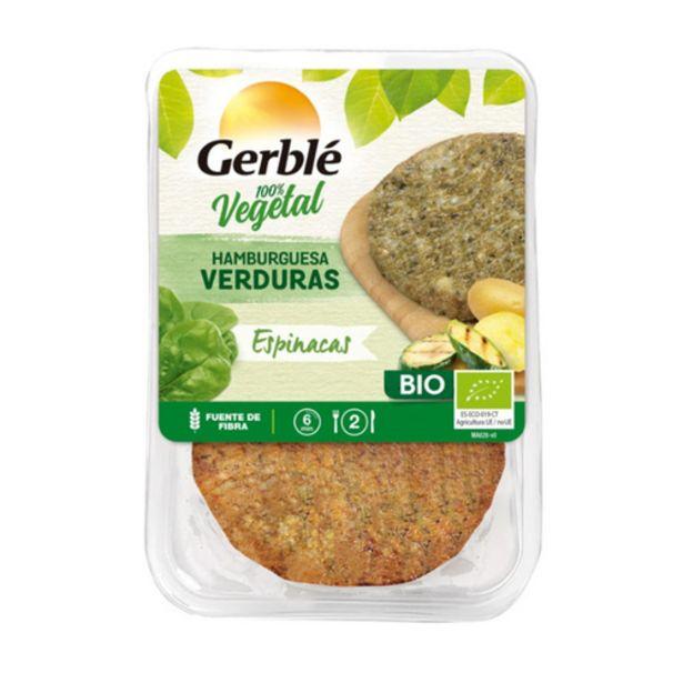 Oferta de GERBLÉ Hamburguesa eco de verdures i espinacs por 2,59€