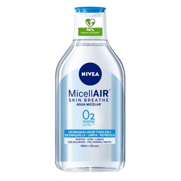 Oferta de NIVEA Aigua micel·lar pell normal por 3,95€