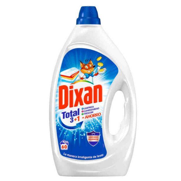 Oferta de DIXAN Detergent concentrat en ampolla de 60 dosis por 6,99€