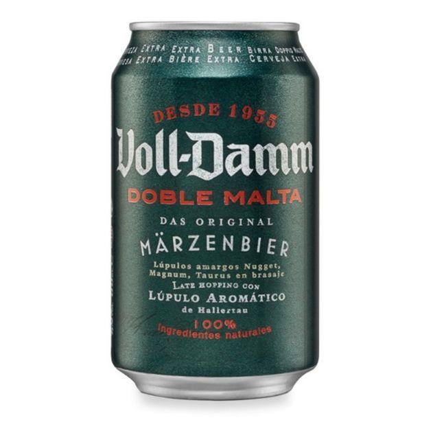 Oferta de VOLL DAMM Cervesa doble malta por 0,7€