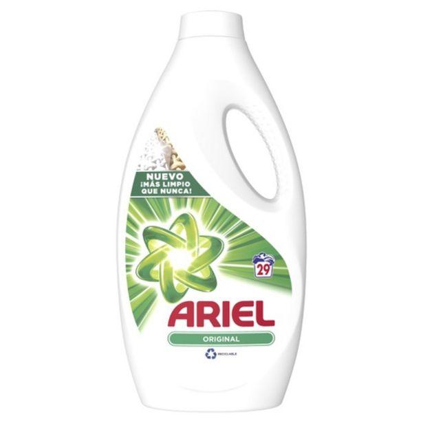 Oferta de ARIEL Detergent concentrat en ampolla de 29 dosis por 6€