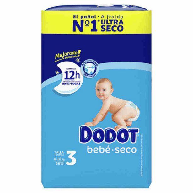 Oferta de DODOT Bolquers T3 (6-10 kg) por 14,95€