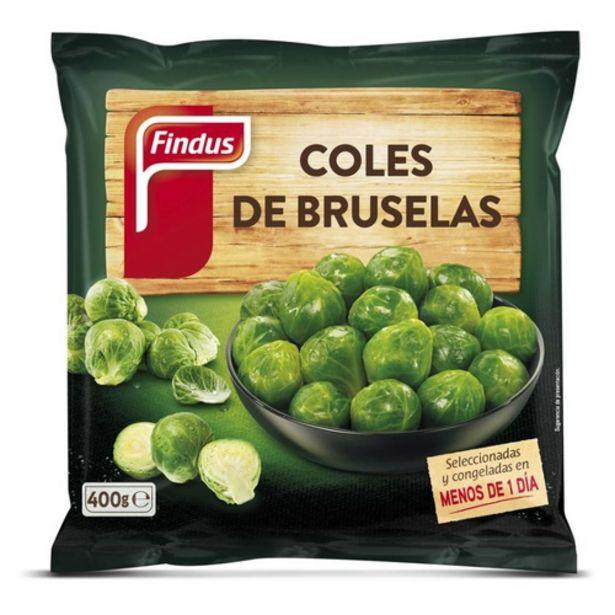 Oferta de FINDUS Cols de Brussel·les por 2,09€