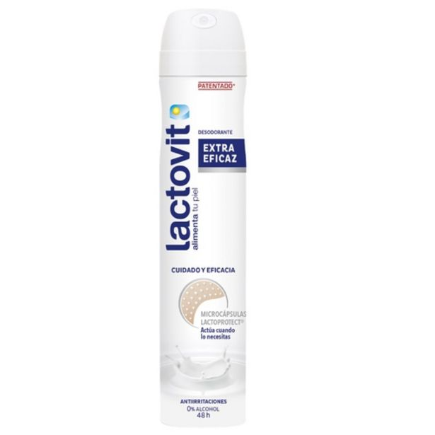 Oferta de LACTOVIT Desodorant original en esprai por 1,99€