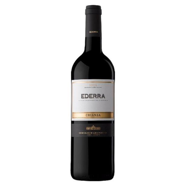 Oferta de EDERRA Vi negre Rioja criança por 5,39€