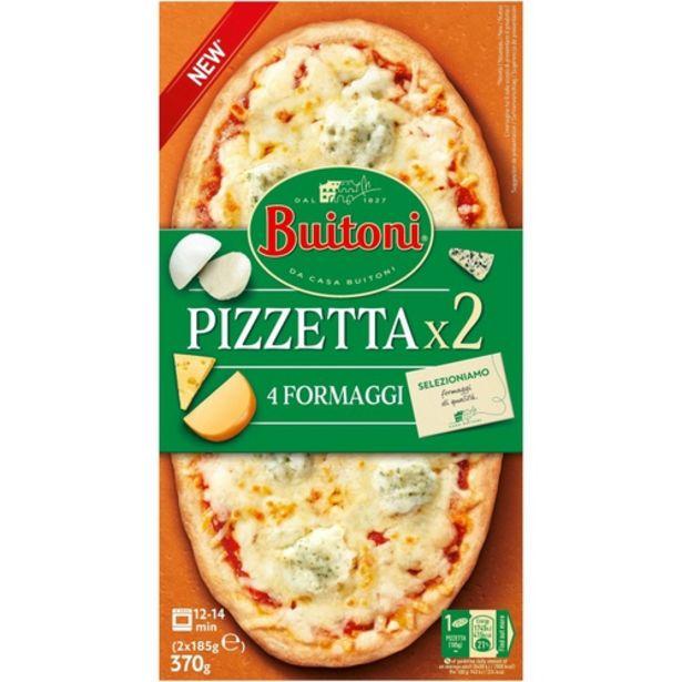 Oferta de BUITONI Pizzeta de 4 formatges por 3,99€