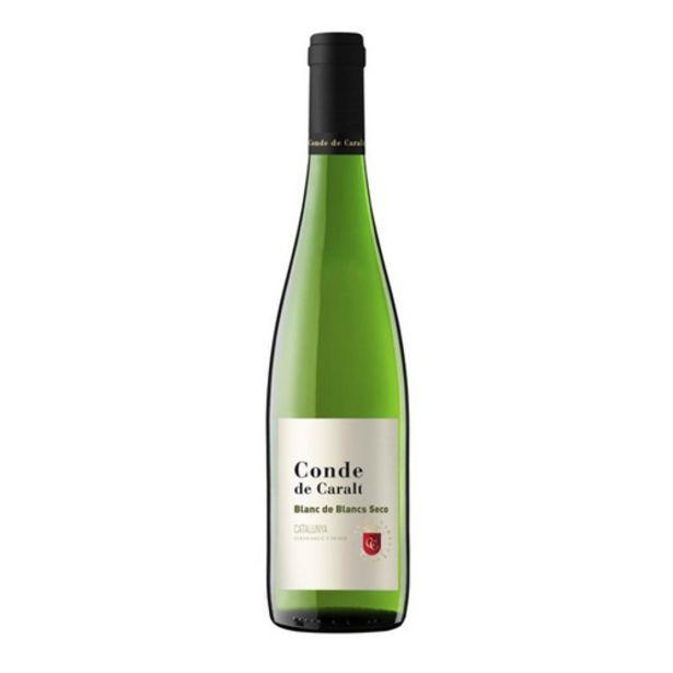 Oferta de CONDE DE CARALT Vi blanc DO Catalunya Km0 por 2,99€
