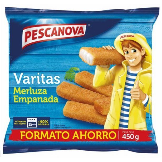 Oferta de PESCANOVA Varetes de lluç por 2,55€
