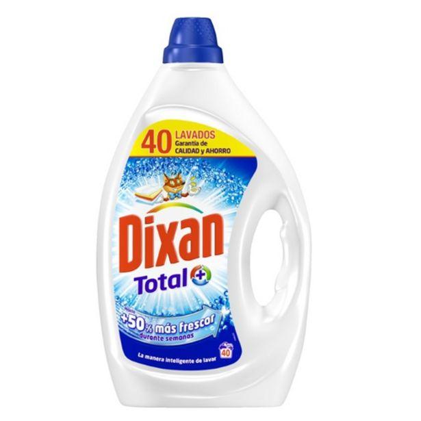 Oferta de DIXAN Detergent líquid en ampolla de 40dosis por 6,99€