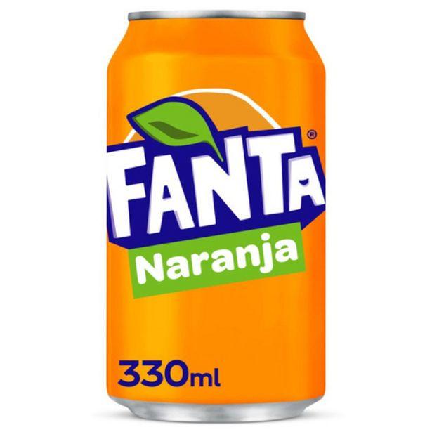 Oferta de FANTA Refresc de taronja por 0,5€