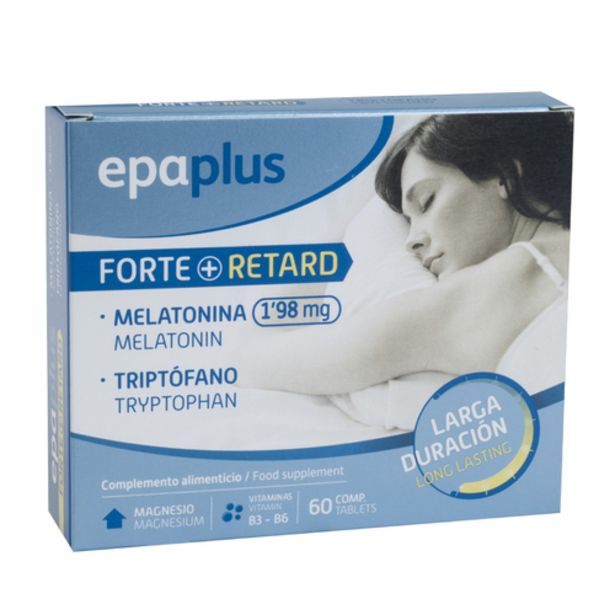 Oferta de EPAPLUS RETARD. Complement forte retard amb melatonina por 9,95€