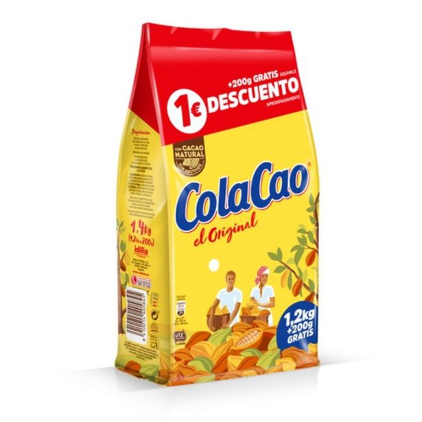 Oferta de COLA CAO Cacau soluble en pols por 7,29€