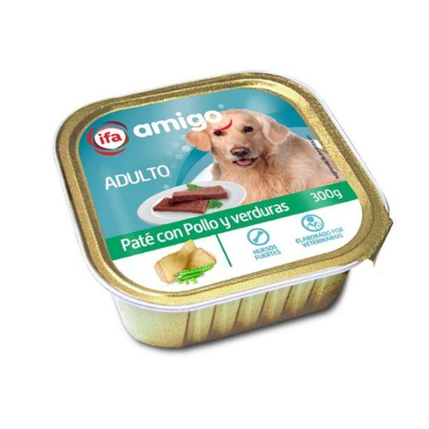 Oferta de IFA Paté de pollastre i verdures per gossos por 0,69€