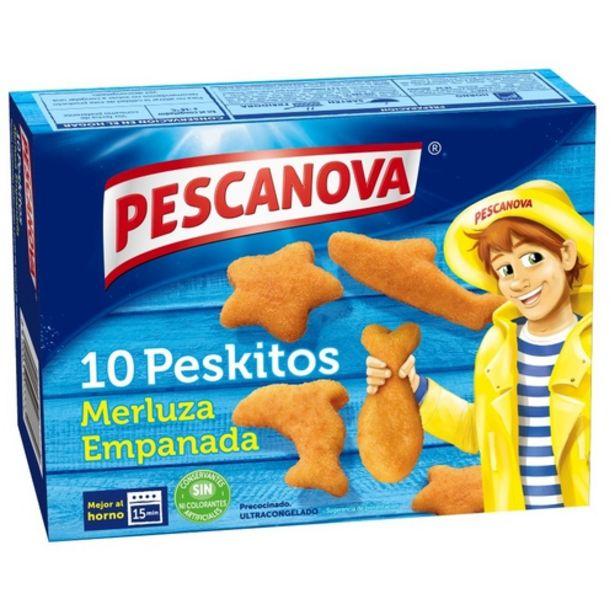 Oferta de PESCANOVA Peskitos de lluç empanat por 2,55€