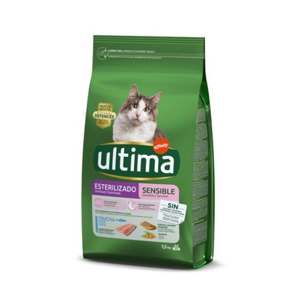 Oferta de ULTIMA Menjar per gats esterilitzats Sensitive por 6,99€