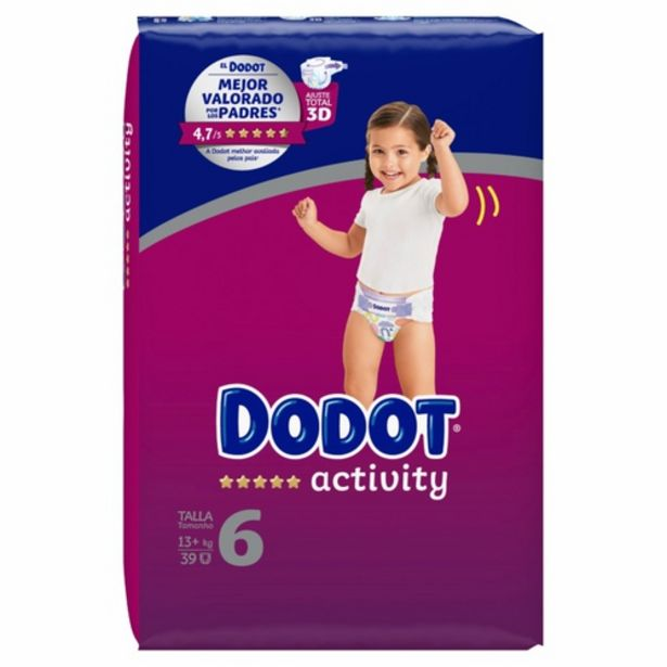 Oferta de DODOT ACTIVITY Bolquers T6 ( 13 kg) por 18,95€