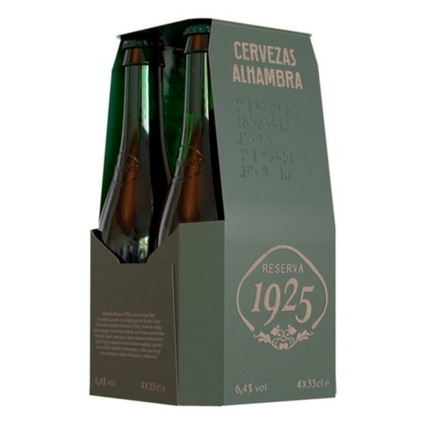 Oferta de ALHAMBRA Cervesa reserva 4 x 33 cl por 4,52€