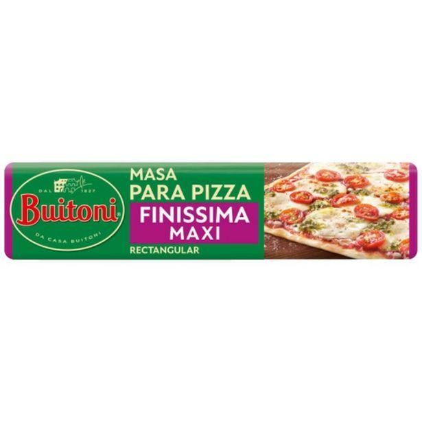 Oferta de BUITONI Massa per pizza Finissima Maxi por 2,8€