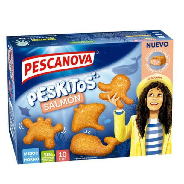 Oferta de PESCANOVA Peskitos salmó empanat por 2,55€