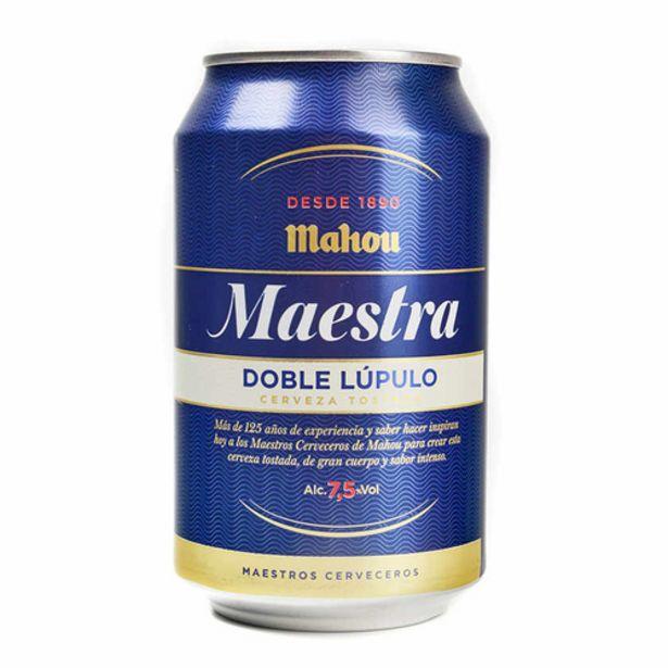 Oferta de MAHOU Cervesa Maestra por 0,75€
