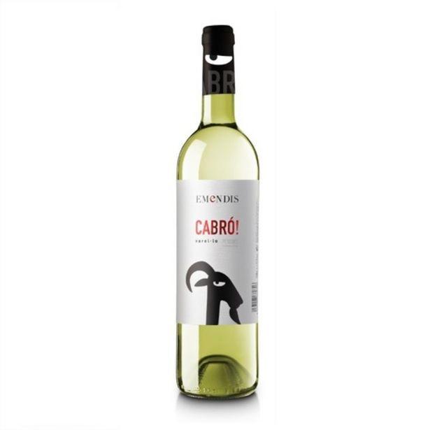 Oferta de CABRÓ Vi blanc DO Penedès Km0 por 3,95€