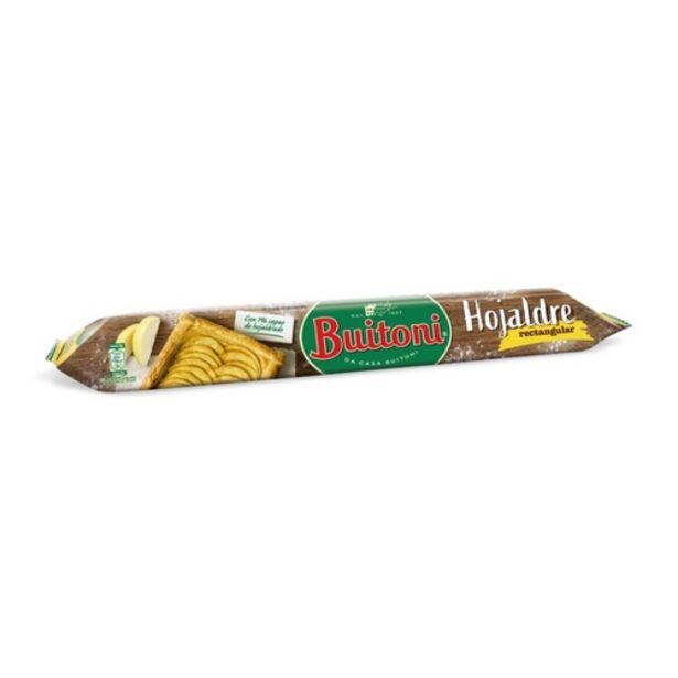 Oferta de BUITONI Pasta de full rectangular por 1,99€