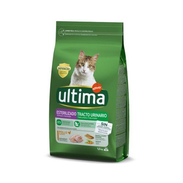 Oferta de ULTIMA Menjar per a gats adults esterilitzats por 6,99€
