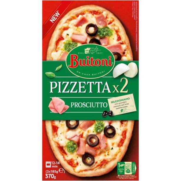 Oferta de BUITONI Pizzeta pernil dolç i formatge por 3,99€