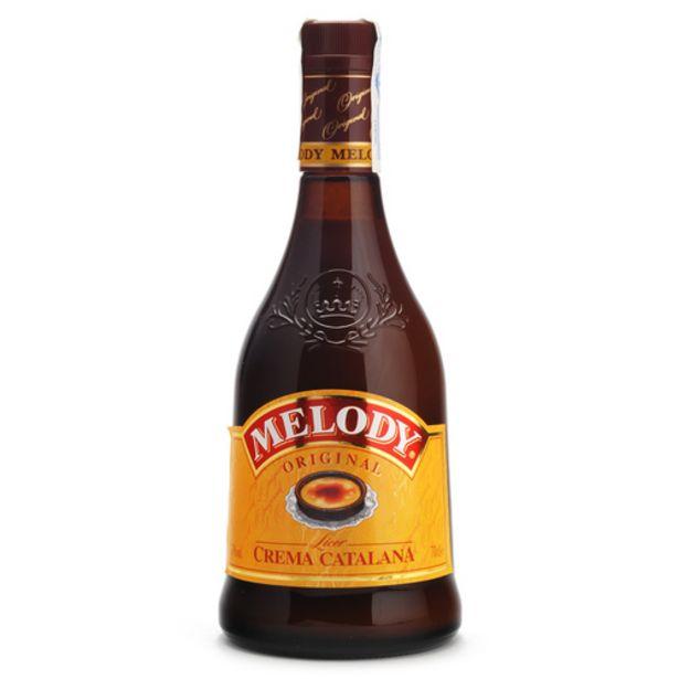 Oferta de MELODY Licor de crema catalana por 8,35€