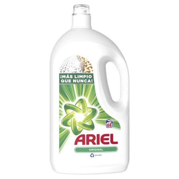 Oferta de ARIEL Detergent líquid en ampolla de 68 dosis por 12,99€