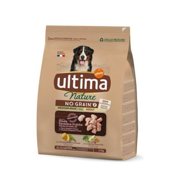 Oferta de ULTIMA Menjar per gos adult por 12,99€