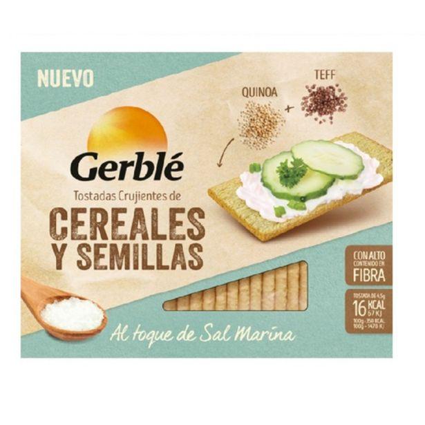 Oferta de GERBLÉ Torrades de quinoa i teff por 1,69€