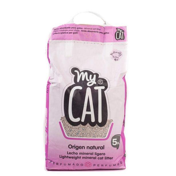 Oferta de MY CAT Sorra absorbent per gats por 1,19€