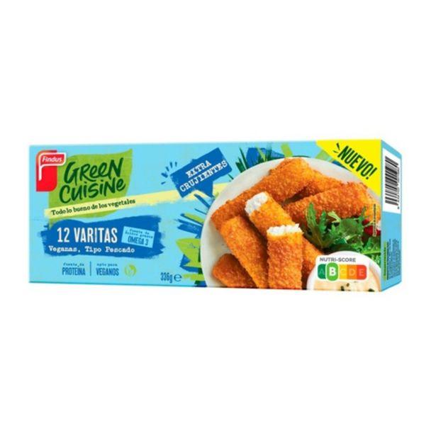 Oferta de GREEN CUISINE Empanades vegades por 2,99€