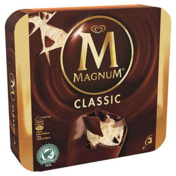 Oferta de MAGNUM Gelat de xocolata i vainilla por 3,29€