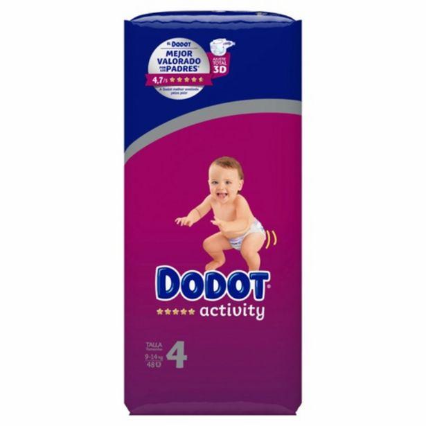 Oferta de DODOT ACTIVITY Bolquers T4 (9-14 kg) por 18,95€
