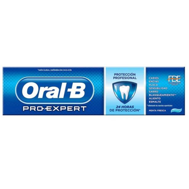 Oferta de ORAL B Dentifrici Protecció Professional por 2,99€