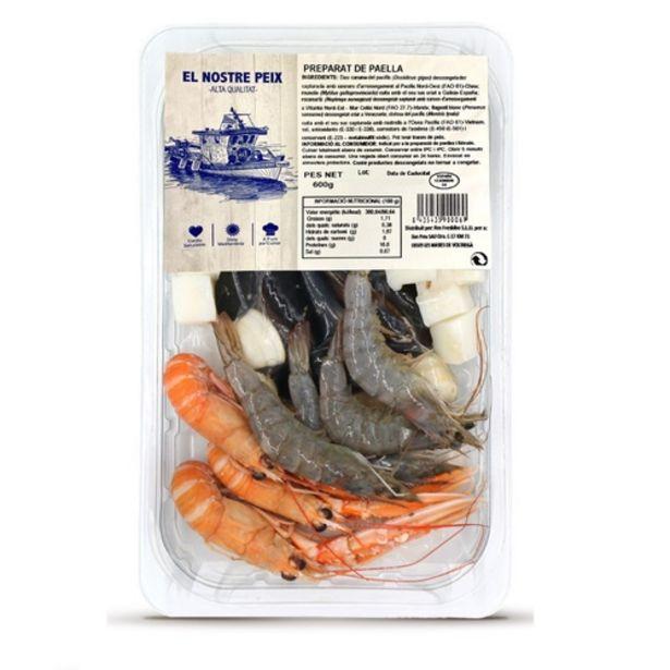 Oferta de EL NOSTRE PEIX Preparat de paella por 6,69€