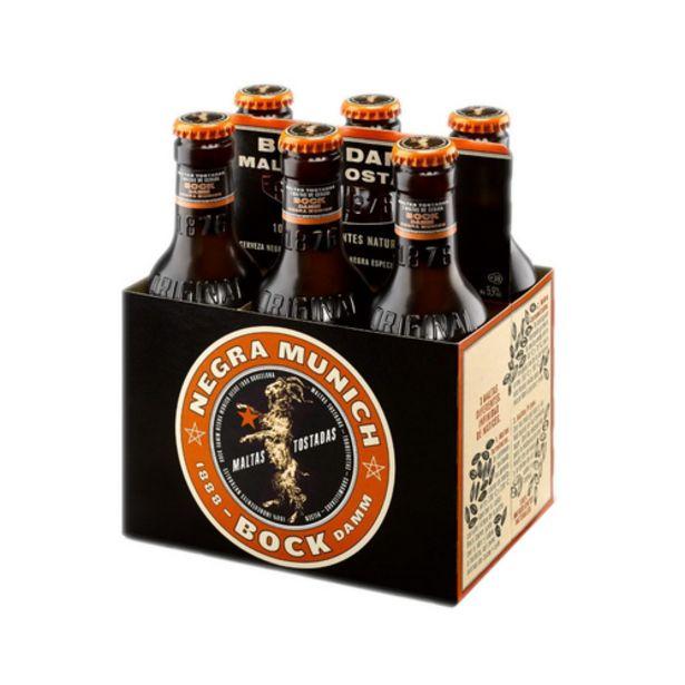 Oferta de BOCK DAMM Cervesa negra Bock 6x25 cl por 3,3€